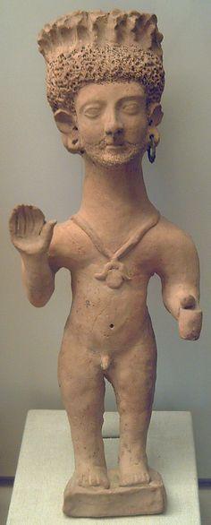 Orante de terracota,encontrada en Ibiza  Fenicios