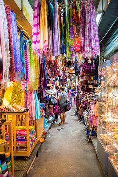 Weekend Market, Chatuchak Market, Bangkok, Thailand.