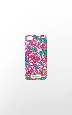 iPhone 5 Cover in Flutter Blue Lucky Charm $28 (w/o 12/15/12) #lillypulitzer #fashion #style