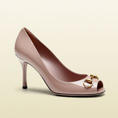 Gucci Jolene Microguccissima Leather Mid-Heel Pump, Available at our Boston Tannery location.