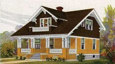 Paint Colors for Sears Houses by John Crosby Freeman. Our expert identifies the original palettes on the most popular kit houses offered by Sears, and updates them for today.