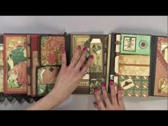 gatefold Steampunk  Album .   AWEsome.         And   - How to Make A Binding Using  Duct Tape