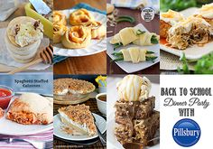 Back to School Dinner Party Ideas - Kid Friendly Foods