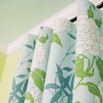 Making Easy No-Sew Curtains