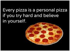 Personal Pizza...