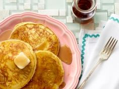Ricotta Pancakes from CookingChannelTV.com