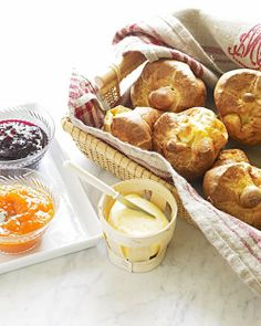 Perfect Popovers.  Can't go wrong with Martha Stewart.  Really different twist on a roll at dinner!