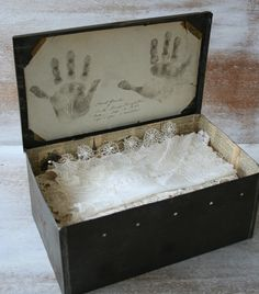 memory box- ceremony idea. Write letters to each other, seal with candle, along with other momentos from your engagement and wedding day. You lock it and open it on your 5th anniversary