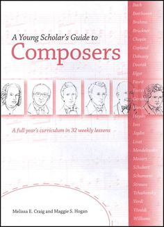 Young Scholar's Guide to Composers (Paperback) [BIP-16 BK] - $34.95 : Bright Ideas Press, Practical, Fun, and Affordable History, Geography, and Science Resources!