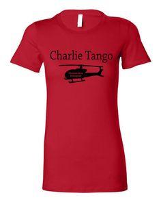 'Charlie Tango' T-Shirt (Etsy, $14.99)
