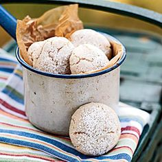 100 Healthy Cookies | Cinnamon-Almond Cookies | CookingLight.com