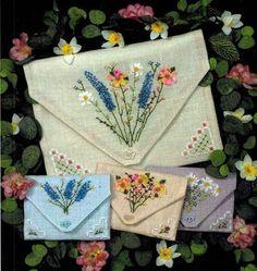 French Linen Pockets - Cross Stitch Pattern