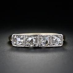 Rose Cut Diamond Band Ring - 110-1-3870 - Lang Antiques