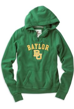Cuddly warm #Baylor hoody ($54 at Baylor Bookstore)