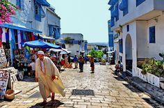 Sidi Bousaiid, Tunisia