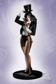 COVER GIRLS OF THE DC UNIVERSE: ZATANNA  STATUE