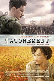 Atonement; read the book, it was great, so i'd like to see the movie