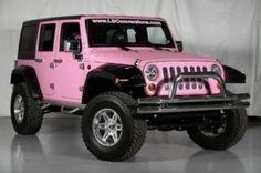 car, jeeps, dreams, colors, barbie, pinkjeep, pink jeep, jeep wranglers, thing