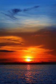 Sunset on the Malecón: Sunset on the Malecón | La Paz, Mexico