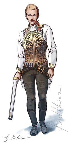 Balthier by KEileena on deviantART