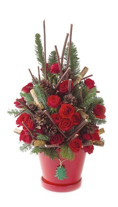Christmas Floral Ideas On Pinterest Revolutions Winter
