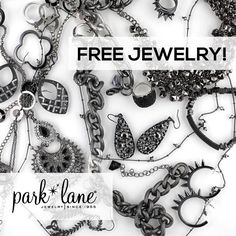I love getting free jewelry when I have a Park Lane get-together. My friends love the discounts too. #parklanejewelry