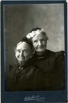 Circa 1890. Pioneer Women