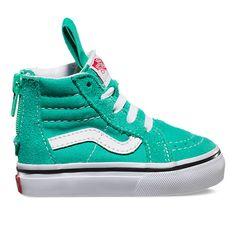SK8-Hi Zip   Shop Toddler Shoes at Vans