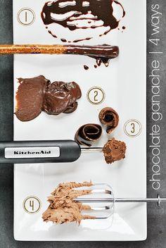 Chocolate Ganache - 4 Ways