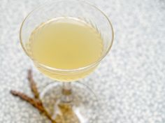 The Lavender Ghost Cocktail
