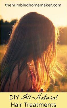 All-natural hair treatments - TheHumbledHomemaker.com