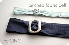 Fabric Belt Tutorial
