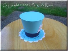 DIY Handmade Project Single KIT  Top Hat Alice In by PepitosRoom, $3.10