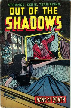 Comic Book Cover For Out of the Shadows #12