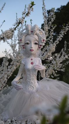 "Enchanted Art Doll Martha 28"" OOAK handmade by ComeGetSome #Etsy"