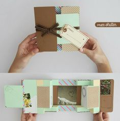 Tarjeta Multi shutter - idea · regalo · detalle http://www.craftingeek.me/2013/09/tarjeta-multi-shutter-card-idea-regalo.html#more