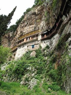 TRAVEL'IN GREECE I Monastery Prodromou, #Lousios, #Peloponnese, #Greece