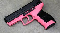 HK P30 in Pink  #pink #guns #9mm pink guns