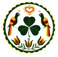 Pennsylvania Dutch Irish hex sign