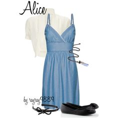Alice, created by raven-ferrel on Polyvore