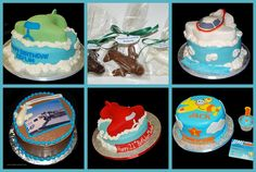 Airplane Cakes and Chocolates - Simply Sweets Designs by Simply Sweets, via Flickr