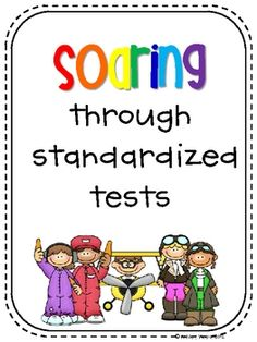 FREEBIE to get your kiddos psyched up for their big tests!