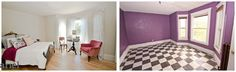 Nicole Curtis Rehab Addict -Dollar House-  Before & After  #interior #design #Ariel Photography