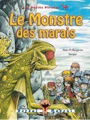 Le monstre des marais, série petits pirates 4, Alain M. Bergeron, illust. Sampar, Boréal Maboul, 56 pages