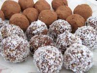 date & walnut truffles for Tu bi'Shvat More