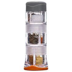 spice missil, surviv gear, spice jars, gsi outdoor, outdoor adventur, camp gear, spices, camping gear, meal