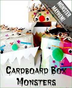 Monster Madness - Cardboard Box Monsters