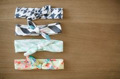 Jersey Knot Headbands- (Available in Aztec, Floral, Houndstooth, Chevron  More)