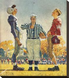 Referee...Norman Rockwell