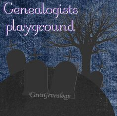 Genealogist playground #genealogy #humor